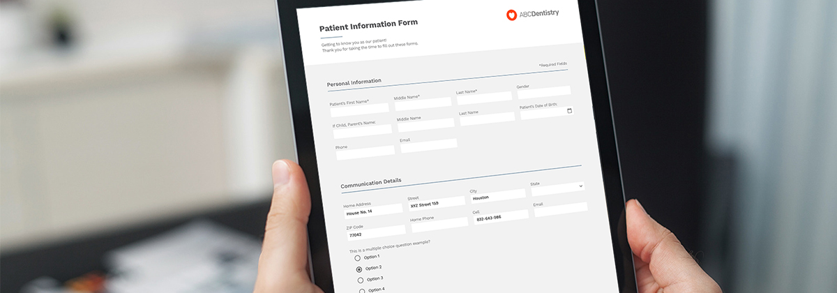 Adit Electronic Patient Forms in a Post-COVID Era